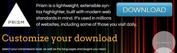 【WP】Prism.jsの使い方や機能の紹介、ダウンロードする際のヒント!
