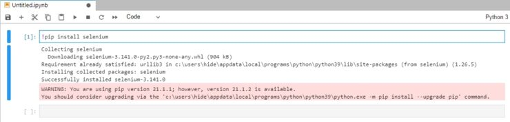 Python #1 環境構築(Windows 10)と初期ディレクトリの変更
